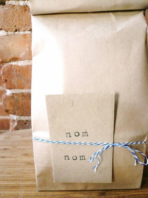 Twelve 1-dozen bags: 3 pecan, 3 almond, 3 peanut, 3 classic vanilla handmade organic fleur de sel caramels