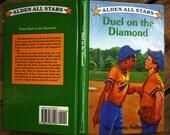 Large 8.2x5.2 eReader Case Cover - Duel on the Diamond - Nook Color, Kindle 3, Kindle Fire, Nook Tablet