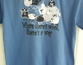 Where There's Wool There's a Way T-shirt