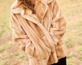 Mincara Faux Fur Coat