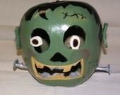 Frankenstein Gourd-o-lantern