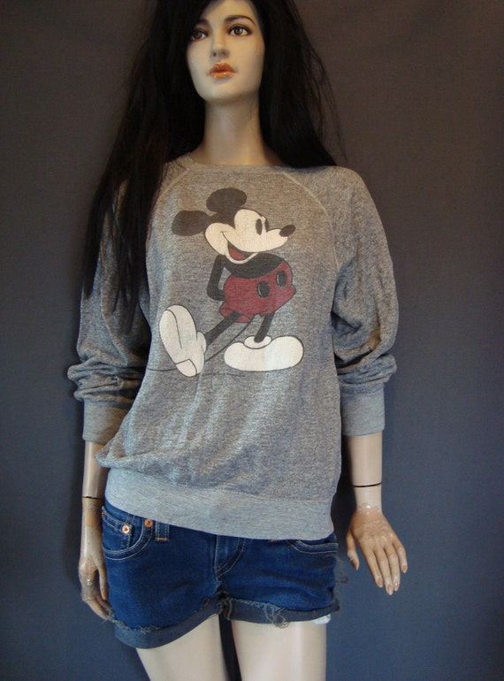 mickey mouse sweatshirt, jumper, TROPIX TOGS collectible
