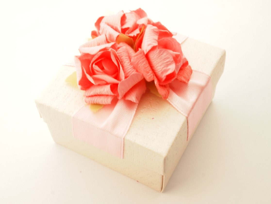 Handmade Box Jewelry Box Gift Box Wedding Favors Box