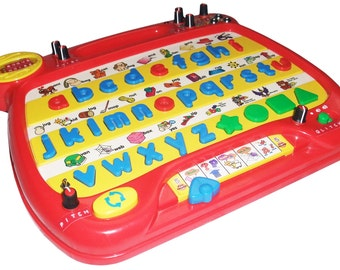 Circuit Bent VTech Alphabet Desk Phonics - 15 Mods & LFO