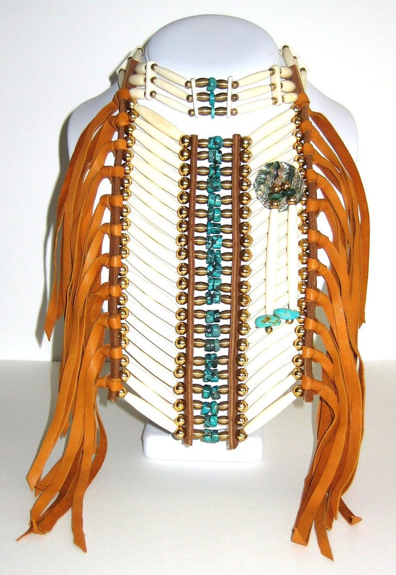 Native Style Choker and  Breastplate