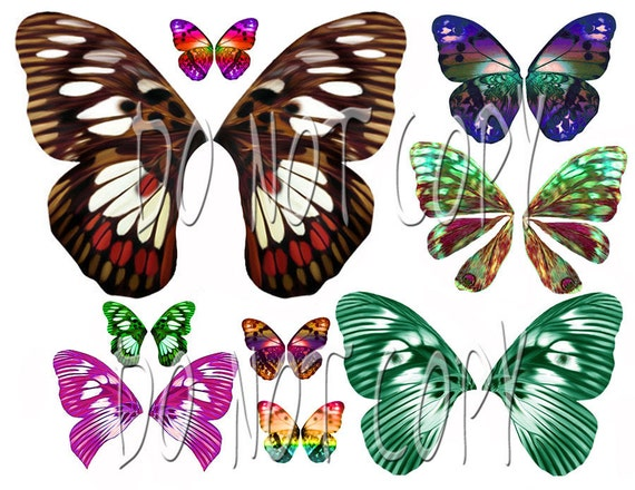 2 Collections on 1 CD for ONE Low Price....OOAK Light and Dark WingDesigns... Plus Tutorials Teach How to Make Transperancy Wings