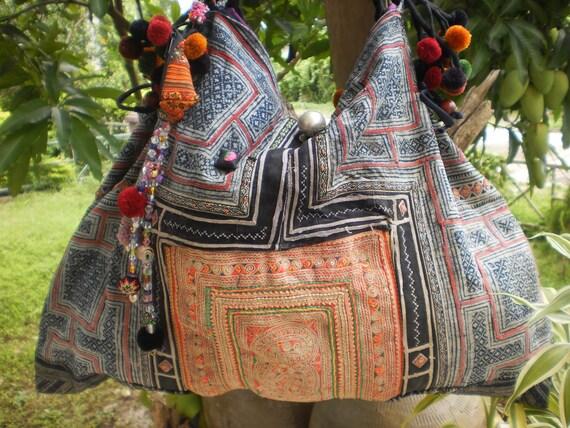 Hmong Hilltribe Vintage Upcycled Bag