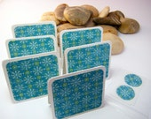 Turquoise Mini Cards or Gift Tags