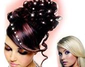 Hair Crystals Hair Accessory for Party Hair