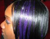 Hair Tinsel, 10 Long Strands