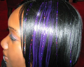 Hair Tinsel, 10 Long Strands