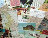 Vintage Paper Ephemera Pack--Small-Sized Collection in Full Color for Scrapbooking, Collage, ATC's, & More (EP-02)