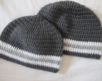 Father and Son Matching Hats - One size for Men and sizes 0-3, 3-6, 6-12, 12-24, 2T-4T for boys