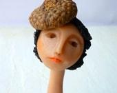 Egg Lady 2- OOAK doll