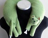 Zombie Cat Travel Neck Pillow