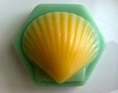 Lemongrass Goat Milk Sea Shell Soap
