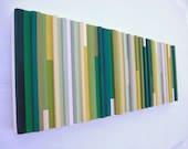 Modern Wood Abstract Sculpture Wall Art