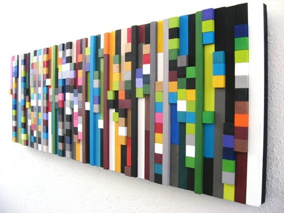 Modern Wall Art - Wood Sculpture