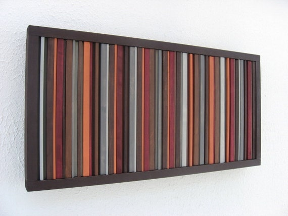 Wood Wall Art, Rustic, Modern, Wood Sculpture, Painting, Abrsract