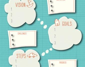 Money Goals Planner (printable)