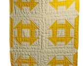 Yellow Crib Quilt
