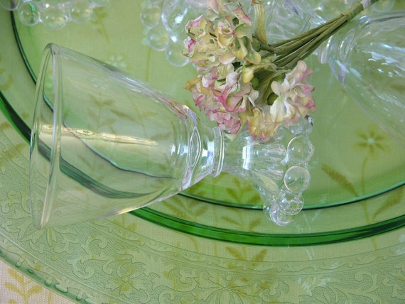 Set of Ten Vintage Collectible Juice Boopie Glasses from the 1950s