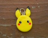 Pokemon Pikachu Charm (Cellphone strap or keychain upon request)