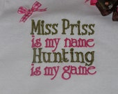 Miss Priss Girl's Shirt or Onesie