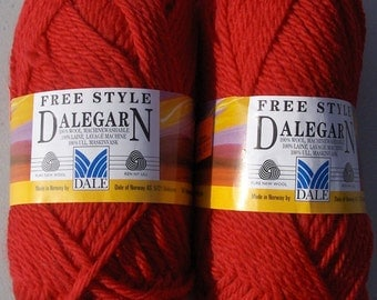 Dale of Norway Freestyle - Cherry Red  - 2 balls
