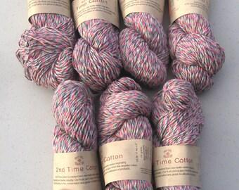 2nd Time Cotton knitting yarn English Heather