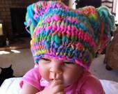Cutey Baby Hat Hand Knit