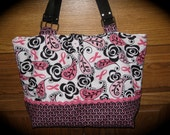 Paisley Breast Cancer Awareness Tote