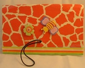 Coupon Clutch Organizer- for purse, pocket, desk, brief case, weekender, decoupage finish