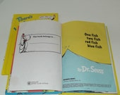 Reserved for Crystal, Vintage Dr. Seuss One Fish Two Fish