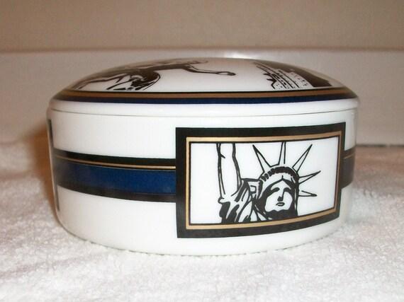 Tiffany and Co trinket box NYC