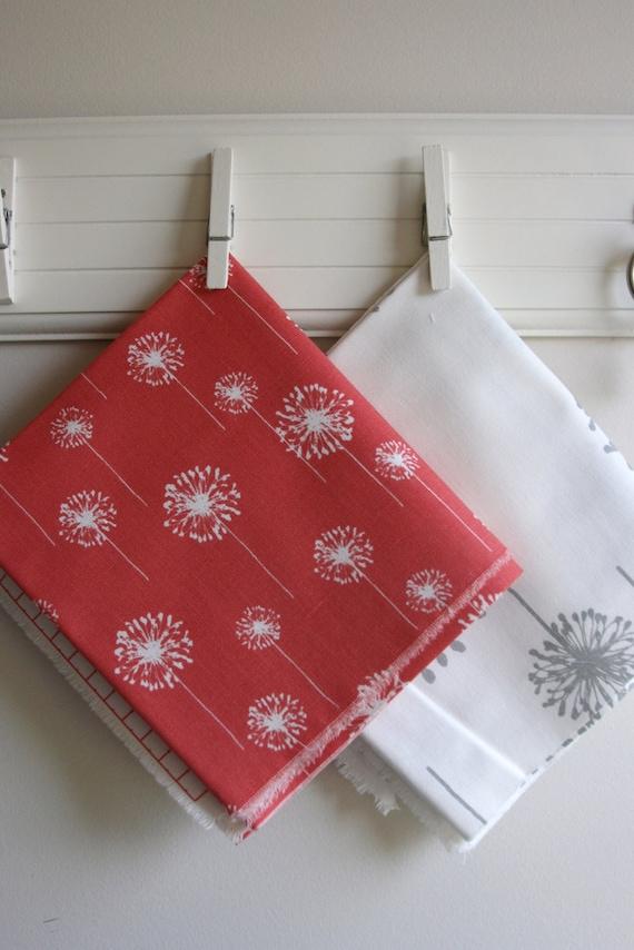 Dandelion Home Decor Fabric Scrap Bag Over 8 By Sewfinefabric