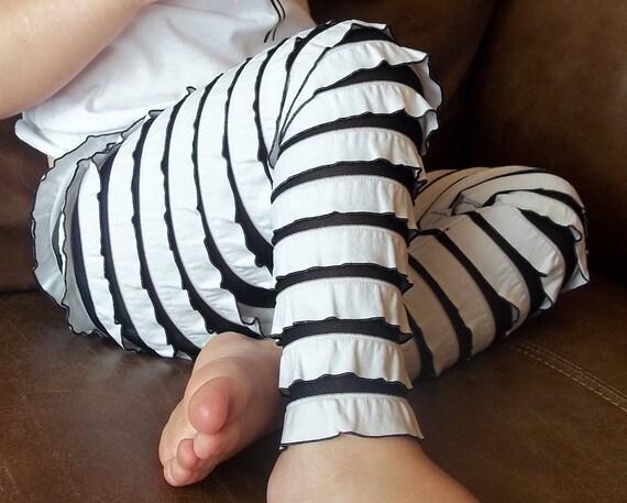 Ruffle Leggings -- FULL LENGTH