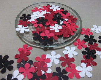 Retro Flower Punch/Die Cuts/Embellishment