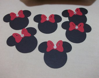 Minnie Mouse Head Embellishments