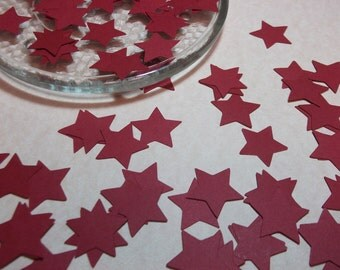 Red Star Die Cuts/Embellishments