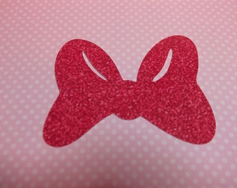 Minnie Mouse Bow-Die Cuts/Embellishments