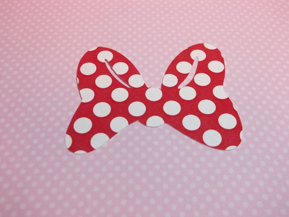 Minnie Mouse Bows-Die Cuts/Embellishments