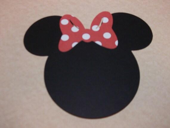 Minnie Mouse Die Cut/Emebellishment