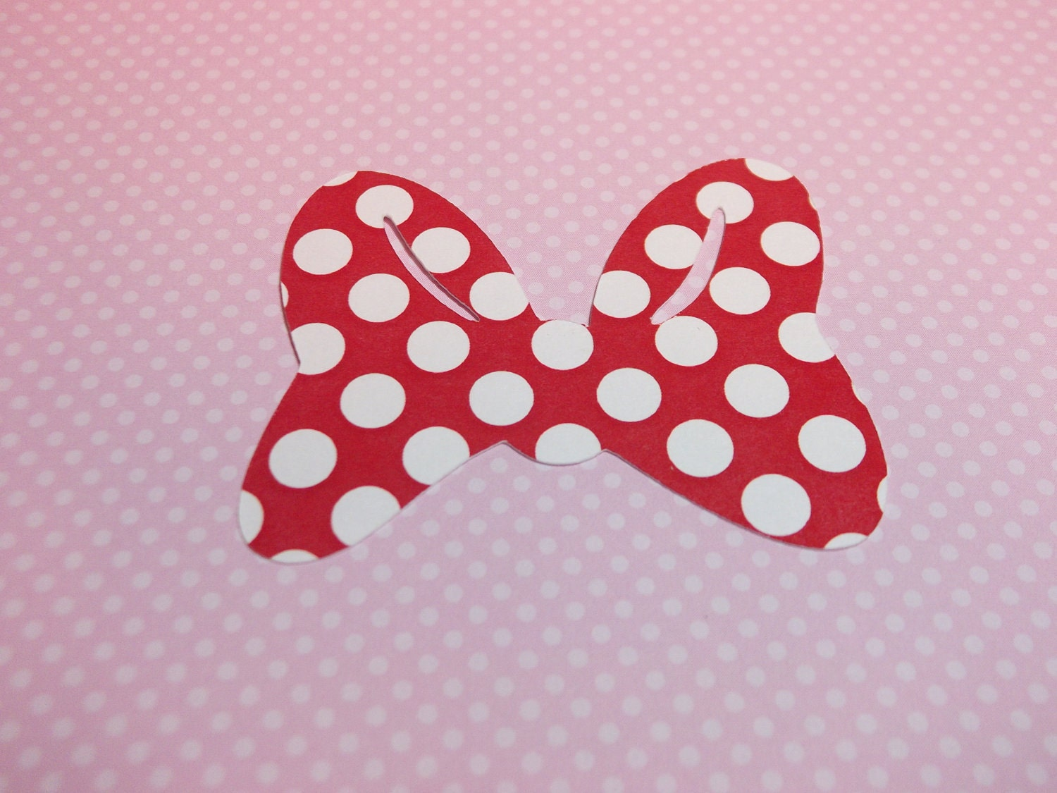 Minnie Mouse Bows-Die Cuts/Embellishments by ScrapbookSolutions