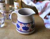 Vintage handpainted pitcher from Germany