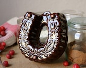 RESERVED FOR HEATHER Horseshoe Shaped Mold from Germany