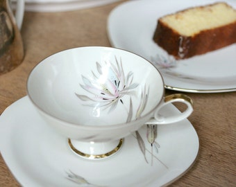 Vintage Cup and Plate set from Bavaria Germany from 50/60's