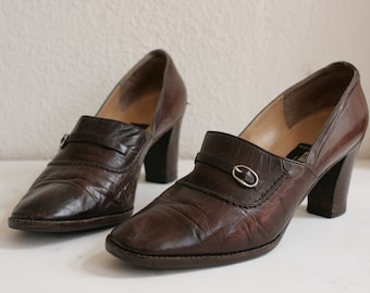 60s Cassandre Pumps Vintage from Paris, made in Italy - shoes Size 6