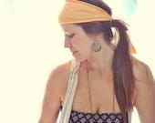 Headwrap - Hibiscus - hemp and organic cotton headband