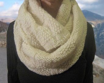 oversized wool chunky cowl
